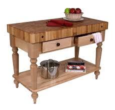 boos le rustica solid cherry table