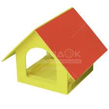 <b>Садовый декор кормушка</b> для птиц Теремок К215, 24х20х17 см в ...
