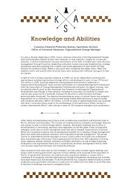 knowledge skills and abilities example knowledge skills abilities knowledge skills and abilities sample