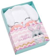 """Подарочный <b>набор Крошка Я</b> Самой любимой малышке """"Зайка ..."""
