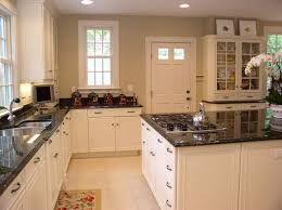 kitchen cabinets with granite countertops: outstanding kitchen with white cabinets and black granite countertops small within white kitchen cabinets with granite popular