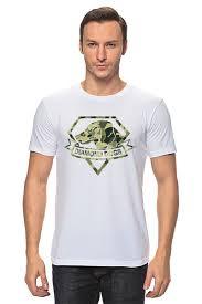 Футболка классическая <b>Diamond Dogs</b> (Metal Gear Solid) #1424362