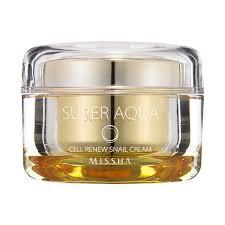 <b>MISSHA Super Aqua Cell</b> Renew Snail Cream - www.mimiko.lv