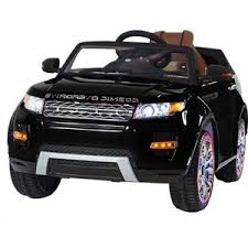 <b>Электромобиль Hollicy Range Rover</b> Luxury Black 12V - SX118-S ...