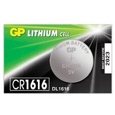<b>Батарейка GP</b> Lithium, CR1616, литиевая, 1 шт., в блистере ...
