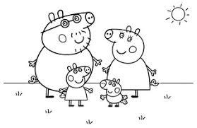 "Peppa <b>Pig</b> Family Children's <b>Wall Sticker</b>, 44""x69"" - <b>Contemporary</b> ..."