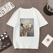 Popular T <b>Shirt</b> with Flower <b>Print Womens</b> Summer-Buy Cheap T ...