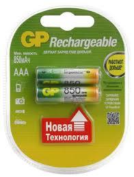 <b>Аккумулятор</b> Ni-Mh <b>850</b> мА·ч <b>GP</b> Rechargeable <b>850</b> ... — купить по ...