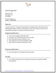 free download link for cv format for a mcom free resume samples for freshers
