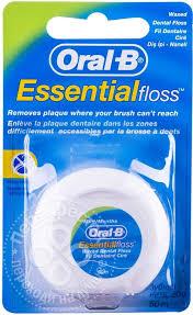 Купить <b>Зубная нить Oral</b>-<b>B Essential</b> floss 50м с доставкой на дом ...