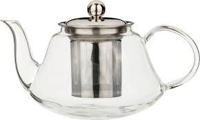 Чайник заварочный <b>Agness</b>, с фильтром, <b>891-022</b>, прозрачный, 1 л