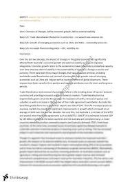 global economy essay on economic growth and external stability    global economy essay on economic growth and external stability