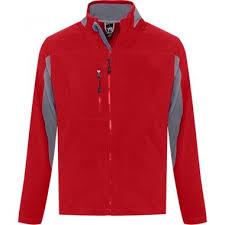 <b>Куртка мужская NORDIC красная</b> с нанесением логотипа ...