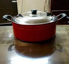 Aluminium Non Stick Casserole - Size <b>260 Mm</b> For Cooking, Rs 375 ...