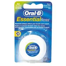 Средства ухода за полостью рта <b>ORAL</b>-<b>B Зубная нить Essential</b> ...