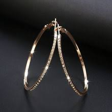 Best value Gold <b>Circle</b> Alloy Earrings – Great deals on Gold <b>Circle</b> ...