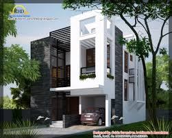 Kerala home design and floor plans  sq feet bedroom single    modern contemporary home square meter   sqft    October