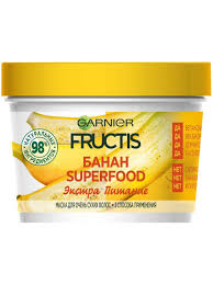 "<b>Маска для волос</b> 3в1 ""Fructis Фруктис, Superfood Банан ..."