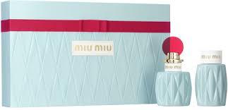 Подарочный набор <b>MIU MIU Парфюмерная вода</b>, 50 мл + лосьон ...