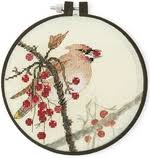 <b>Набор для вышивания Xiu</b> Crafts 2801903 Waxwing