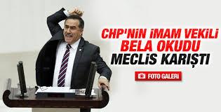 CHP'li vekil Meclis kürsüsünden bela okudu İZLE