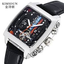 <b>KIMSDUN</b> Men's <b>Automatic Mechanical Watch</b> 723D | Shopee ...