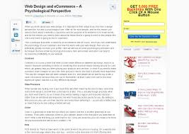 web design research papers buy it now part ii five published research papers