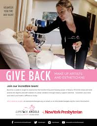 volunteering at newyork presbyterian weill cornell medical center volunteer for the lipstick angels