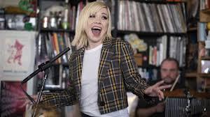 Video: Watch <b>Carly Rae Jepsen</b> Play The Tiny Desk : NPR