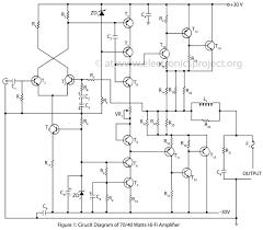 watts hi fi amplifier   electronics projectadvanced hi fi amplifier