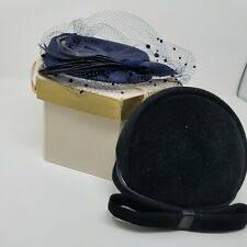 <b>Fascinator Black</b> Formal Vintage Hats for Women for sale | eBay