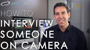 how to interview someone on camera