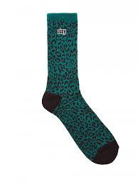 <b>Носки OBEY</b> Leo Socks Blue Green — купить в магазине ridestep