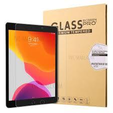 0.25mm Arc Edge Full Size Tempered <b>Glass</b> Screen Film for <b>iPad</b> ...