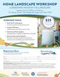 home landscape workshop 2014 home landscaping flyer