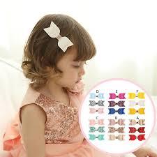 <b>3Pcs</b>/<b>Set Kids Lovely</b> Girls Sequined Bow Leather Hair Clip IU ...