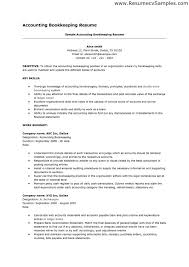 bookkeeper resume samples eager world sample resume for bookkeeper