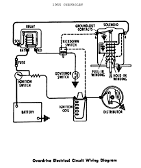 basic ignition wiring diagram on points with dualfire coil dia Coil Wiring Diagram basic ignition wiring diagram for overdrive electrical circuit wiring diagram 1955 chevrolet passenger car jpg coil wiring diagram chevy