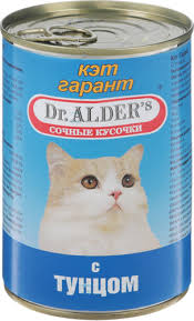 """35 отзывов на <b>Консервы Dr. Alders</b> """"<b>Cat Garant</b>"""" для взрослых ..."""