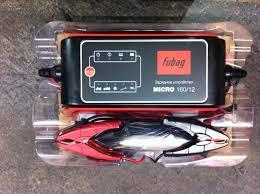 Обзор на Зарядное <b>устройство FUBAG MICRO 160/12</b>