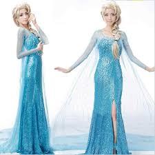 New Adult <b>Princess Anna Elsa Princess</b> Dress Queen <b>Anna</b> ...