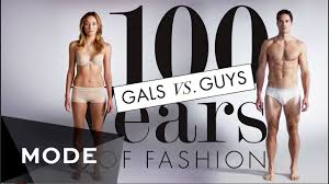 100 Years of <b>Fashion</b>: Gals vs. Guys Glam.com - YouTube