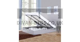 Kayson <b>Light</b> Grey <b>Linen</b> Ottoman <b>Bed Frame</b> - Guaranteed ...