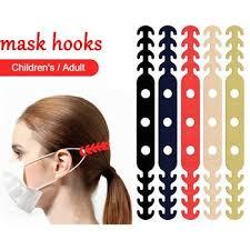 Face Comfort Ear Masks Hook <b>Adjustable Anti-slip Mask Ear</b> Grips ...