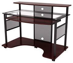 z line designs cyrus computer desk cherryblack larger front buy office computer desk furniture