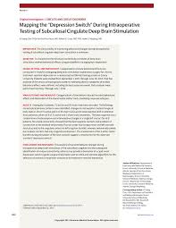 mapping the depression switch depressive disorders jama first page pdf preview