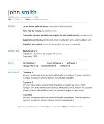 Job Resume Format            Resumes Formater Lighteux Com Resume Format Template