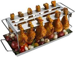 stainless steel grilled chicken dish bbq grill outdoor leisure picnic special barbecue tray removable baking