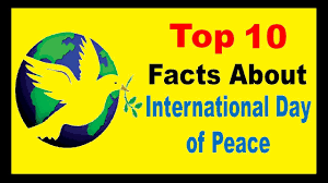 International Day Of Peace - Facts - YouTube