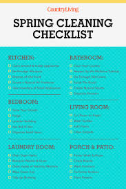 30 spring cleaning checklist tips how to spring clean